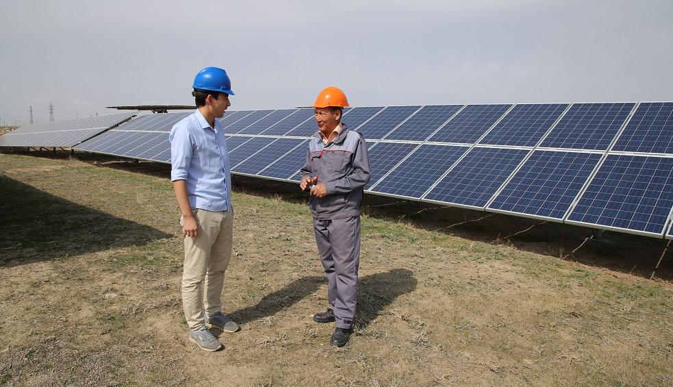 В Алматинской области построили новую солнечную электростанцию