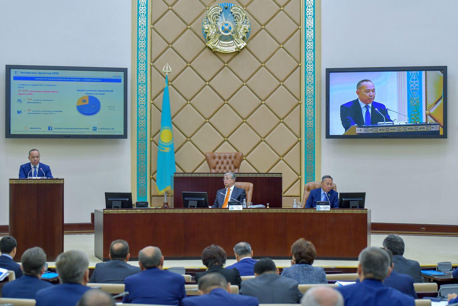 Рустам Журсунов: «Необходимо законодательно закретить принцип «стабильности законодательства»»