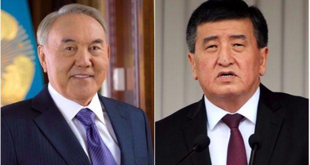 Назарбаев Жээнбековпен телефон арқылы сөйлесті
