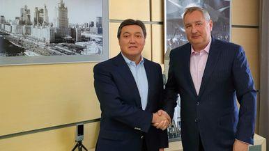 Асқар Мамин мен Дмитрий Рогозин ғарыш саласындағы ынтымақтастық мәселелерін талқылады