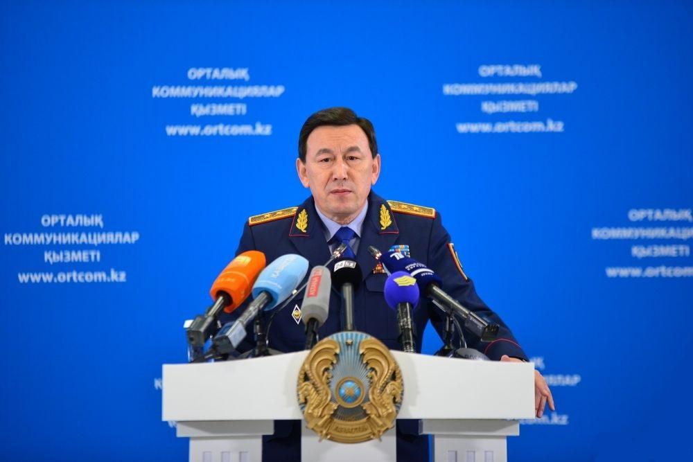 Глава МВД Казахстана признаёт справедливой участившуюся критику в отношении работы полиции