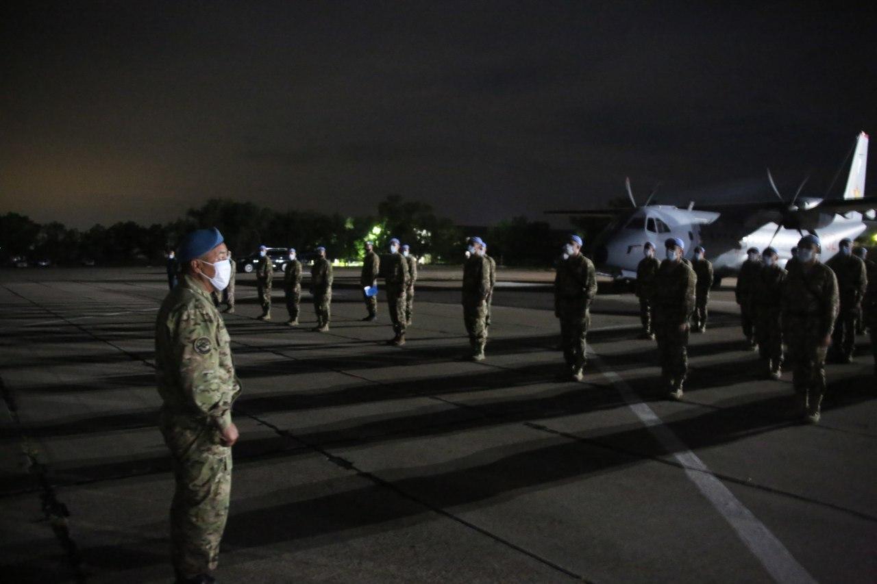 Ливанға қазақстандық әскери қызметшілердің кезекті тобы аттанды