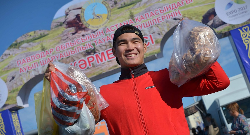 Астанадағы жәрмеңкеге Павлодар облысының 100-ден астам кәсіпорны қатысады