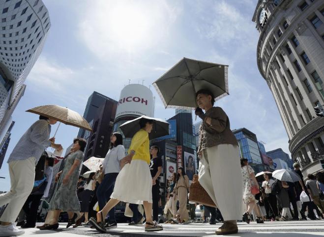 Жапонияда аптап ыстықтан 23 адам көз жұмды