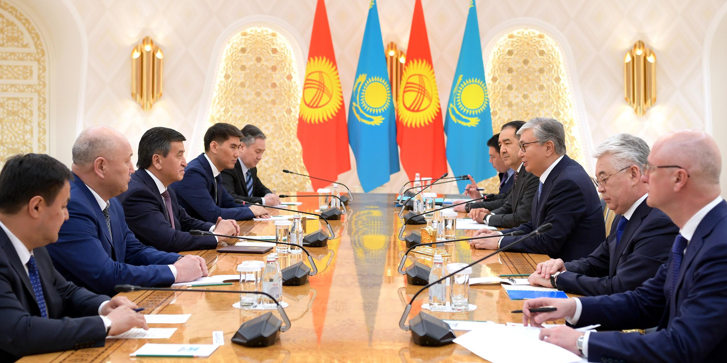 Касым-Жомарт Токаев встретился с президентами Кыргызстана и Беларуси