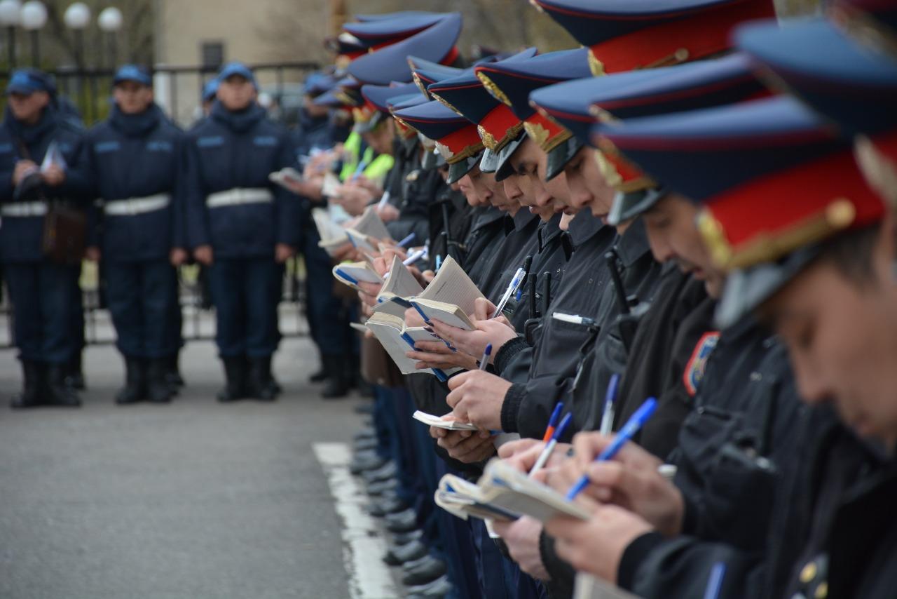 Ерлан Тұрғымбаев: Полиция қызмет атқарудың ерекше тәртібіне көшті