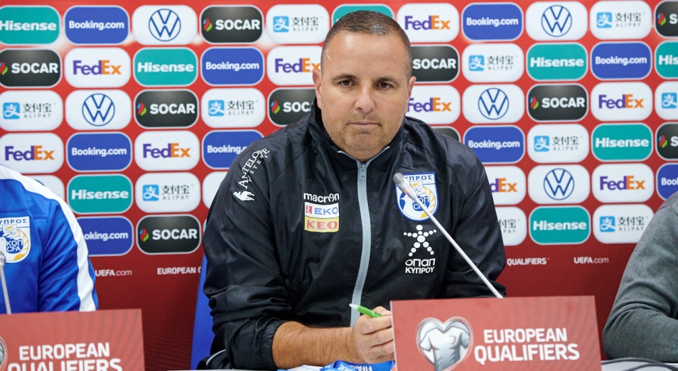 Наставник сборной Кипра: «Я верю в своих футболистов»