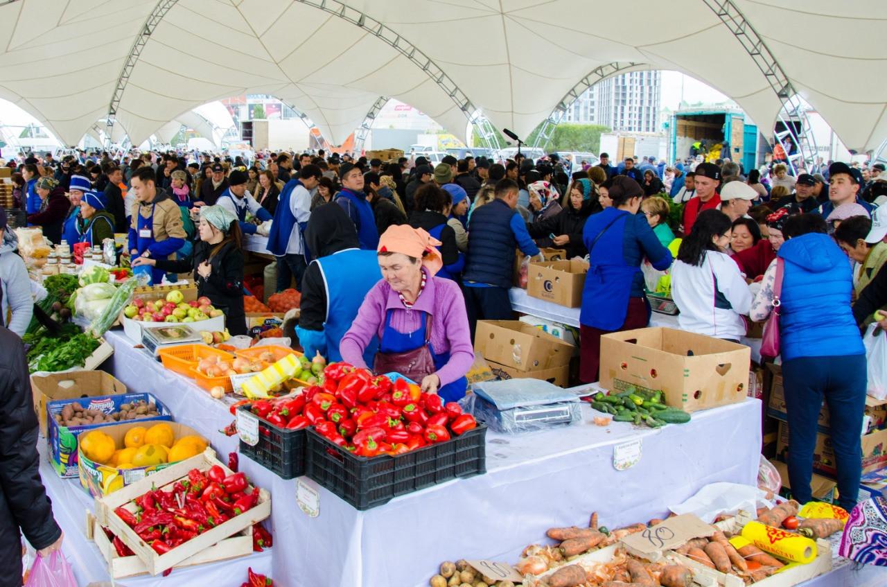 Павлодарлық өндірушілер елорда тұрғындарына 500 тонна өнім ұсынбақ