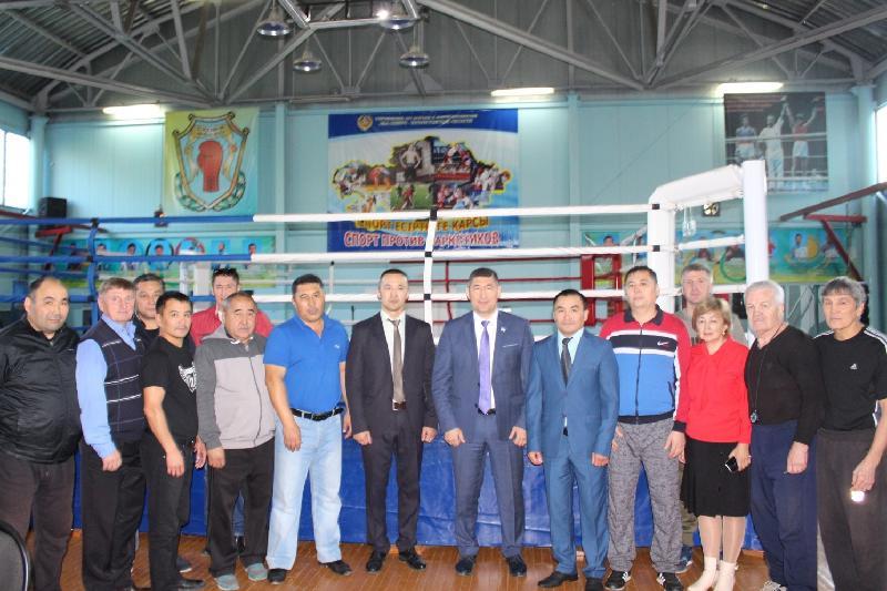 Жанат Жақиянов СҚО-дағы бокс мектебінің басшысы болды