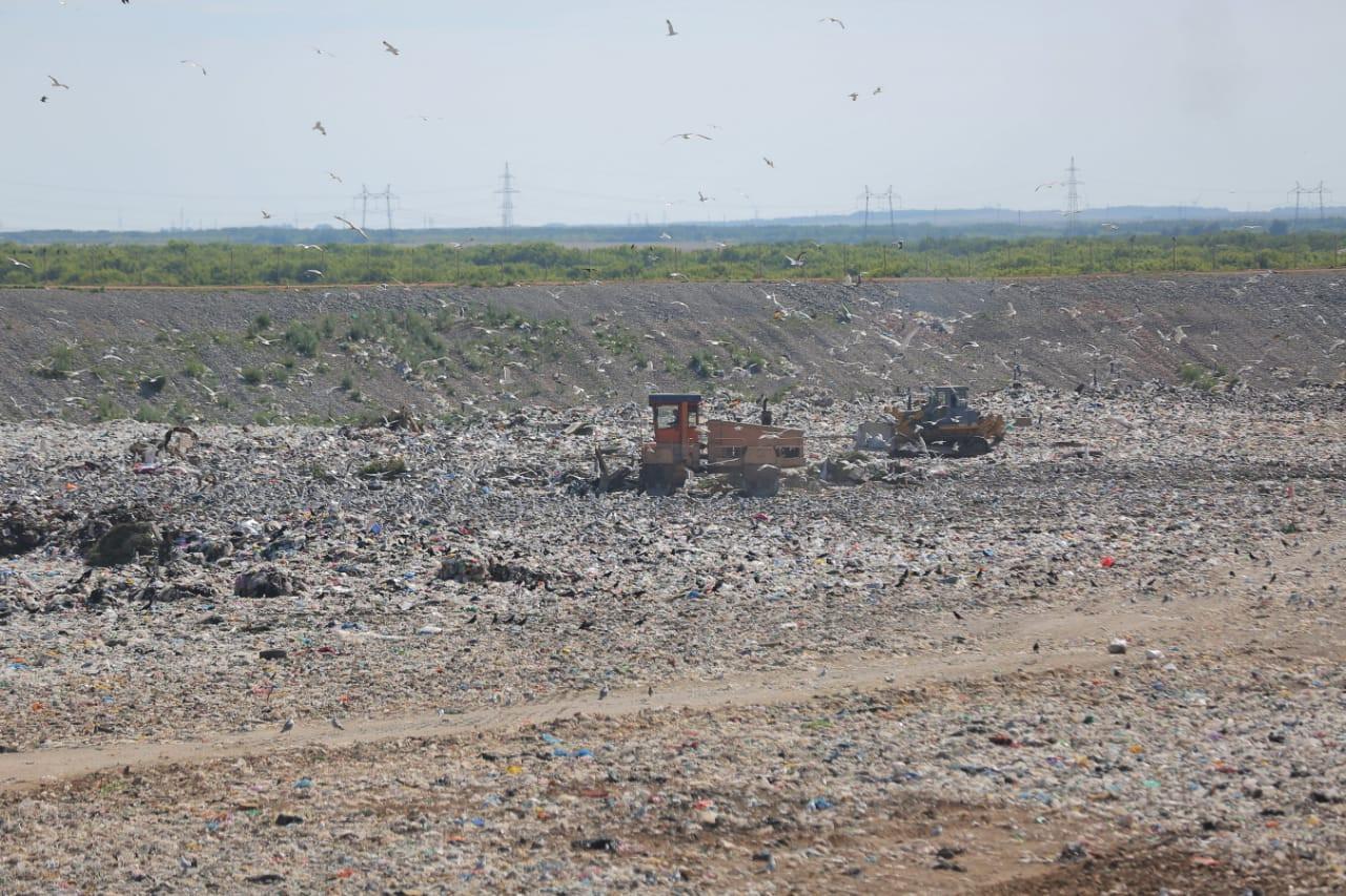 Елордадағы тұрмыстық қалдықтарды өңдеу кешеніне күніне 950 тонна қоқыс түседі