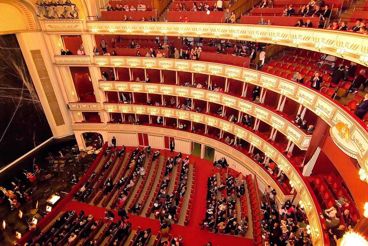 Венская опера перешла в онлайн-режим