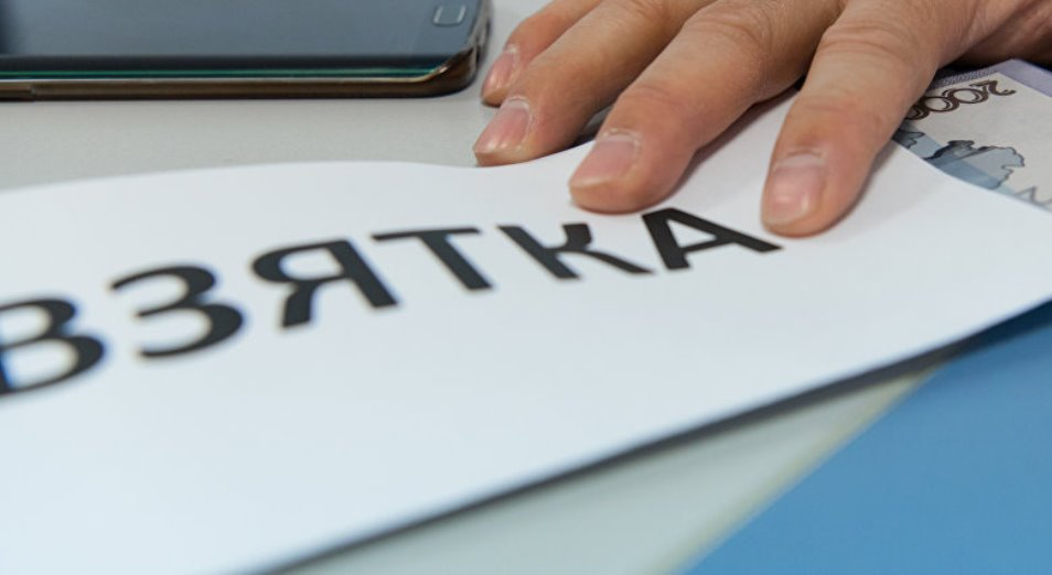 Средний размер взятки назвали в Transparency Kazakhstan