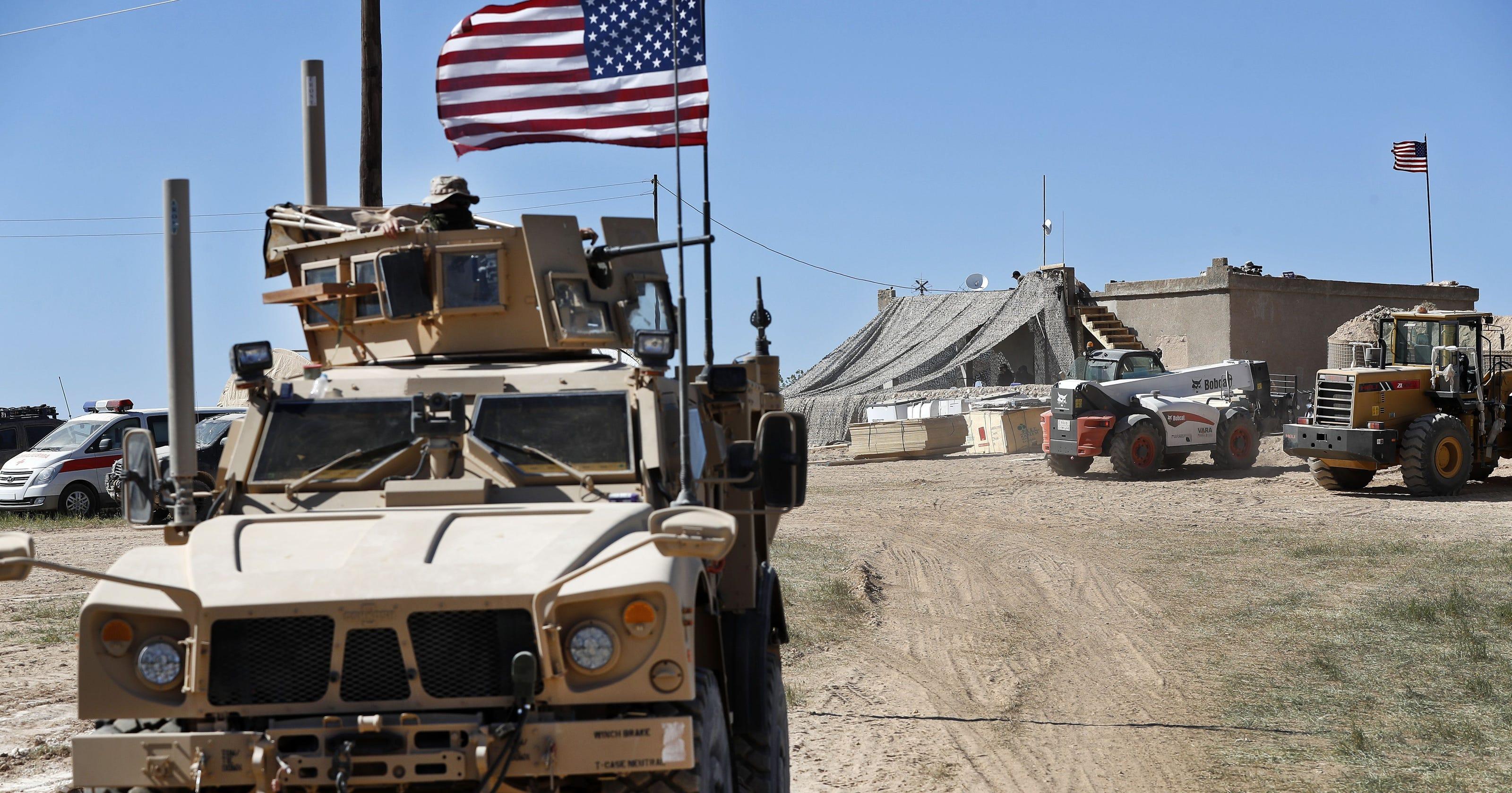 АҚШ Сириядаға әскерін қауіпсіз жерге көшірді