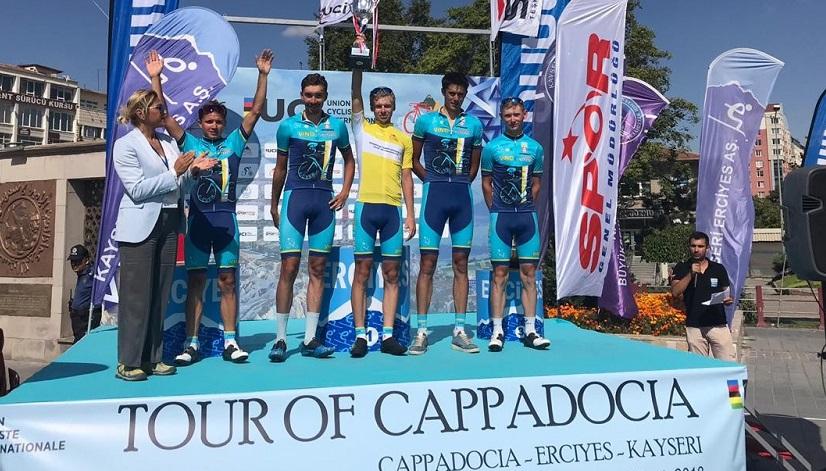 Қазақстандық велоспортшылар Каппадокия турында жеңіске жетті
