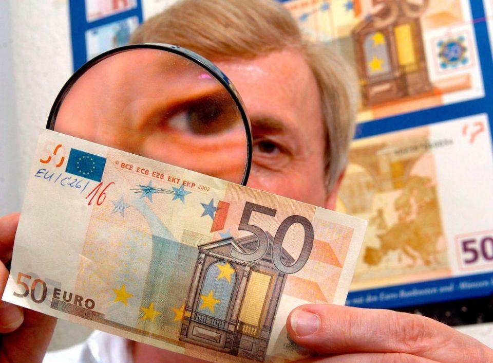 В Европе число изъятых из обращения фальшивых купюр в 2018 году упало на 19%