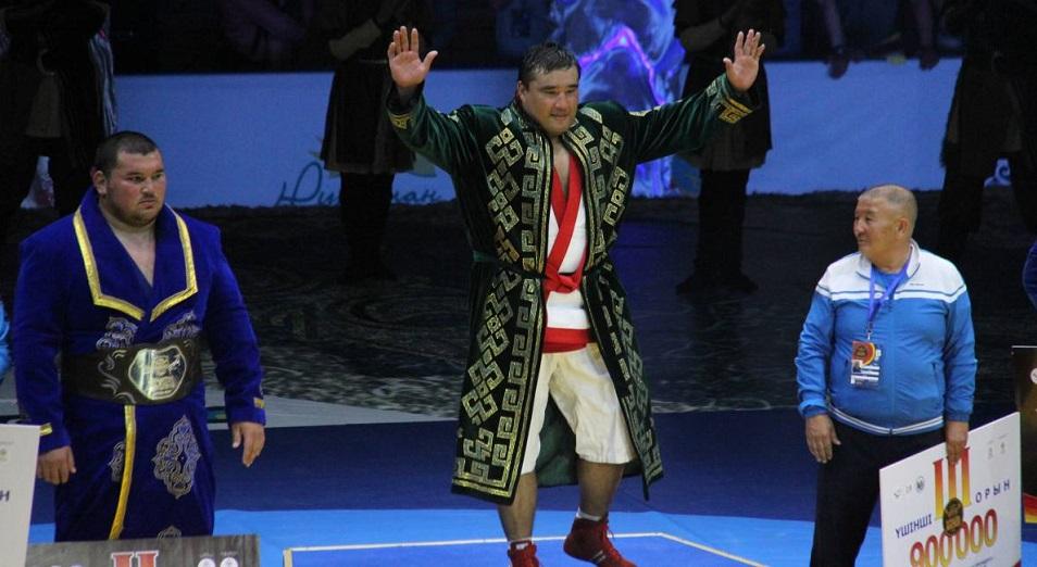 Ержан Шынкеев – 2018 жылғы «Қазақстан Барысы»