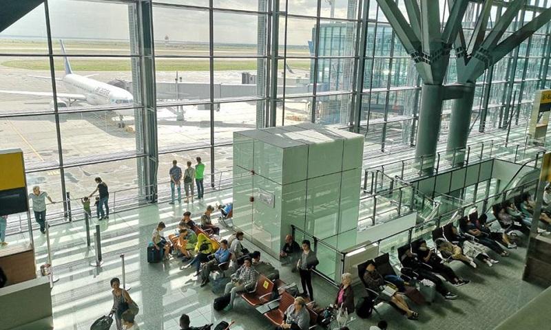 Сколько авиакомпаниями РК было перевезено пассажиров за семь месяцев