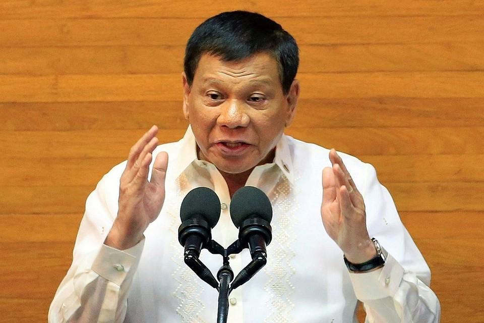 Президент Филиппин считает, что оппозиционеры готовят покушение на него