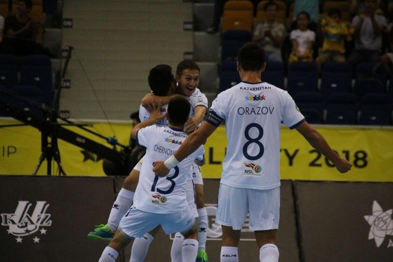 Впервые сборная Казаxстана вышла в финал