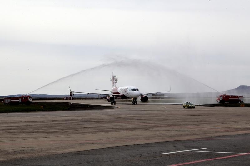 Бүгін FlyArystan Қарағандыға алғашқы рейсін жүзеге асырды