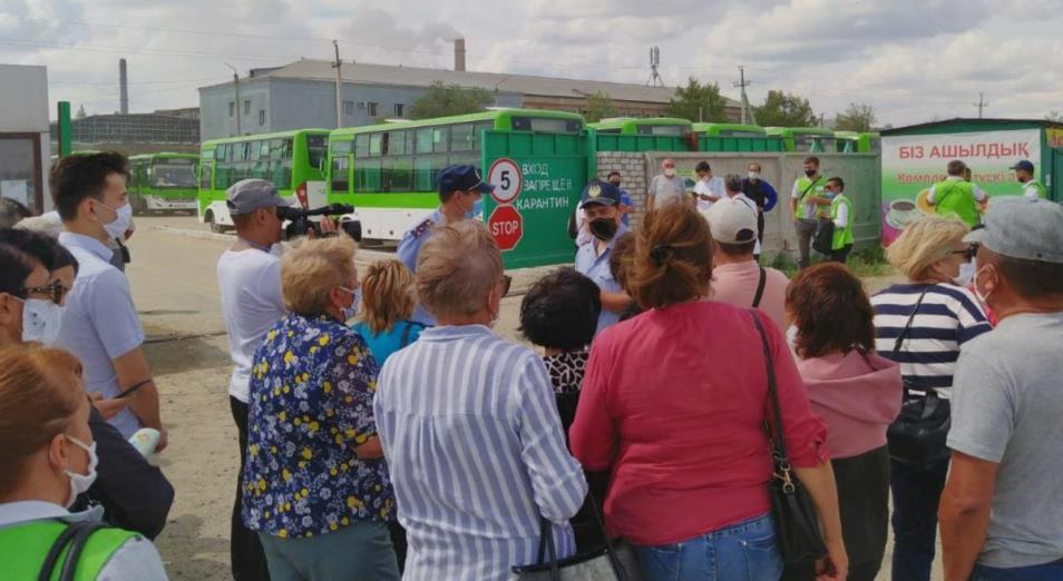 ТОО Semey Bus проверяет аудит из-за конфликта работников с руководством компании