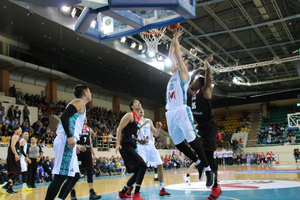 В Алматы впервые прошёл отборочный раунд чемпионата мира по баскетболу