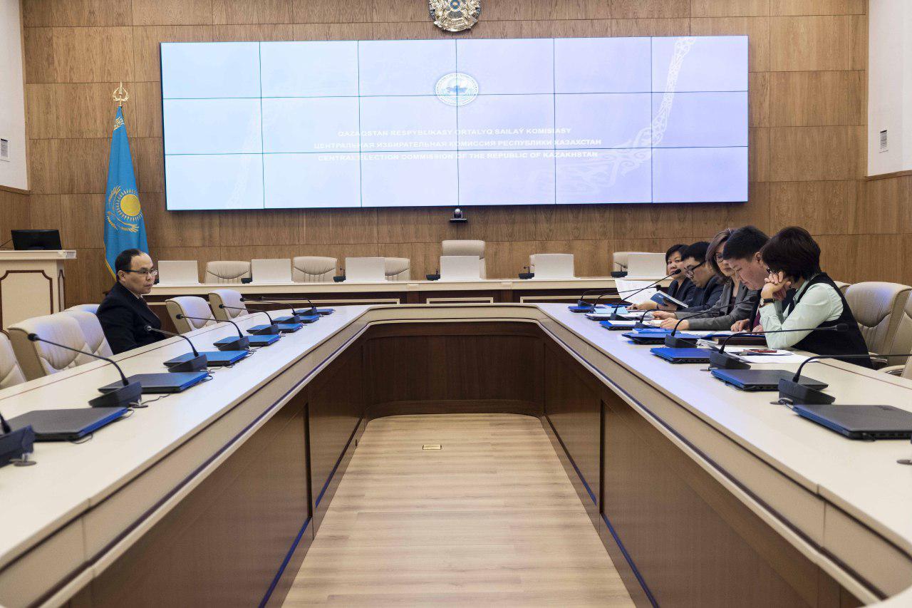 Қасым-Жомарт Тоқаевтың құжаттары Орталық сайлау комиссиясына тапсырылды