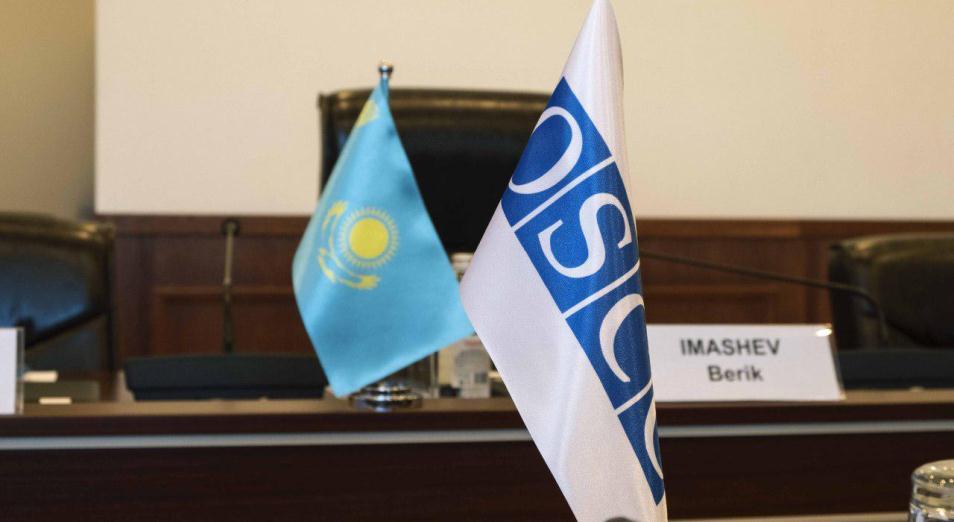 Председатель ЦИК РК встретился с представителями миссии БДИПЧ/ОБСЕ по оценке потребностей