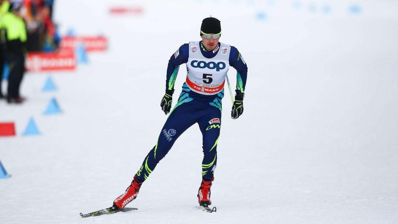 Алексей Полторанин завоевал золотую медаль на Альпийском Кубке