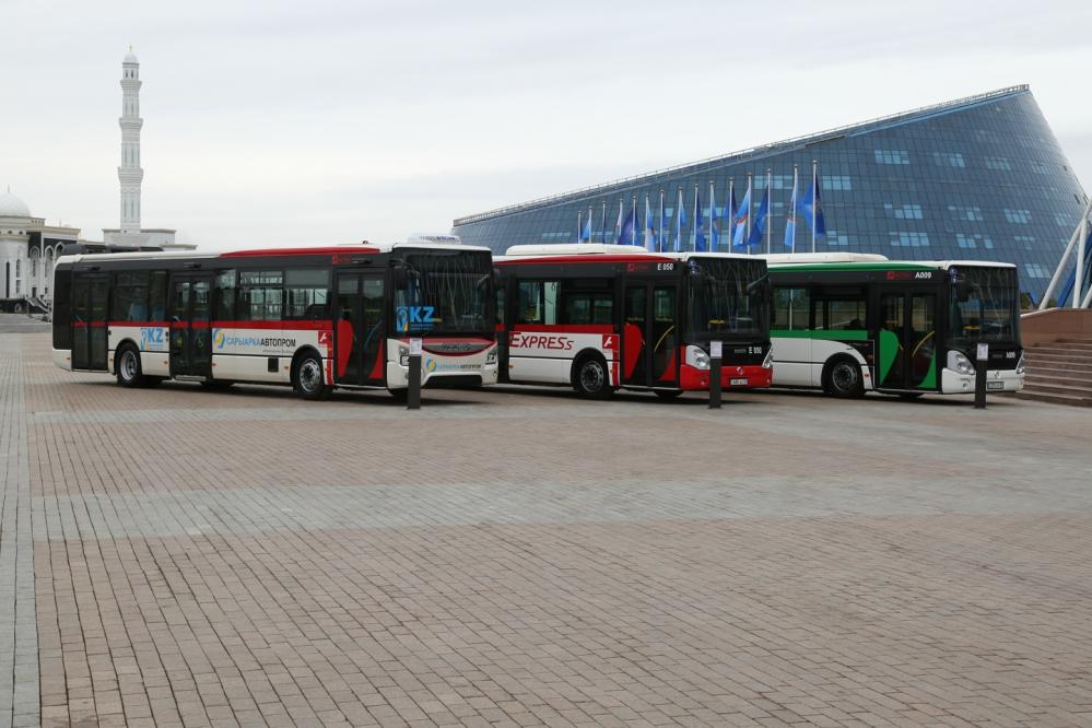 В Нур-Султане на маршруты выйдут 100 новых электроавтобусов