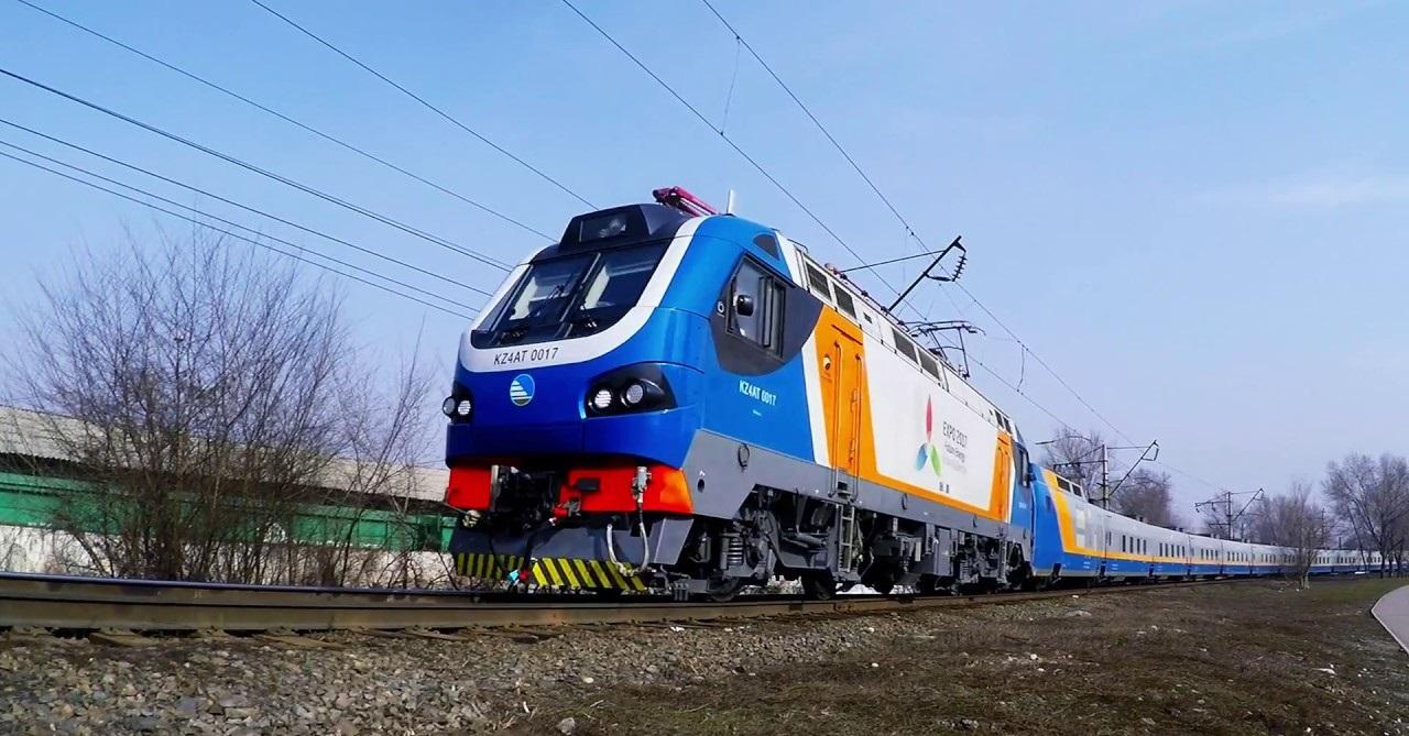 В Казахстане электрифицировано 40% железных дорог