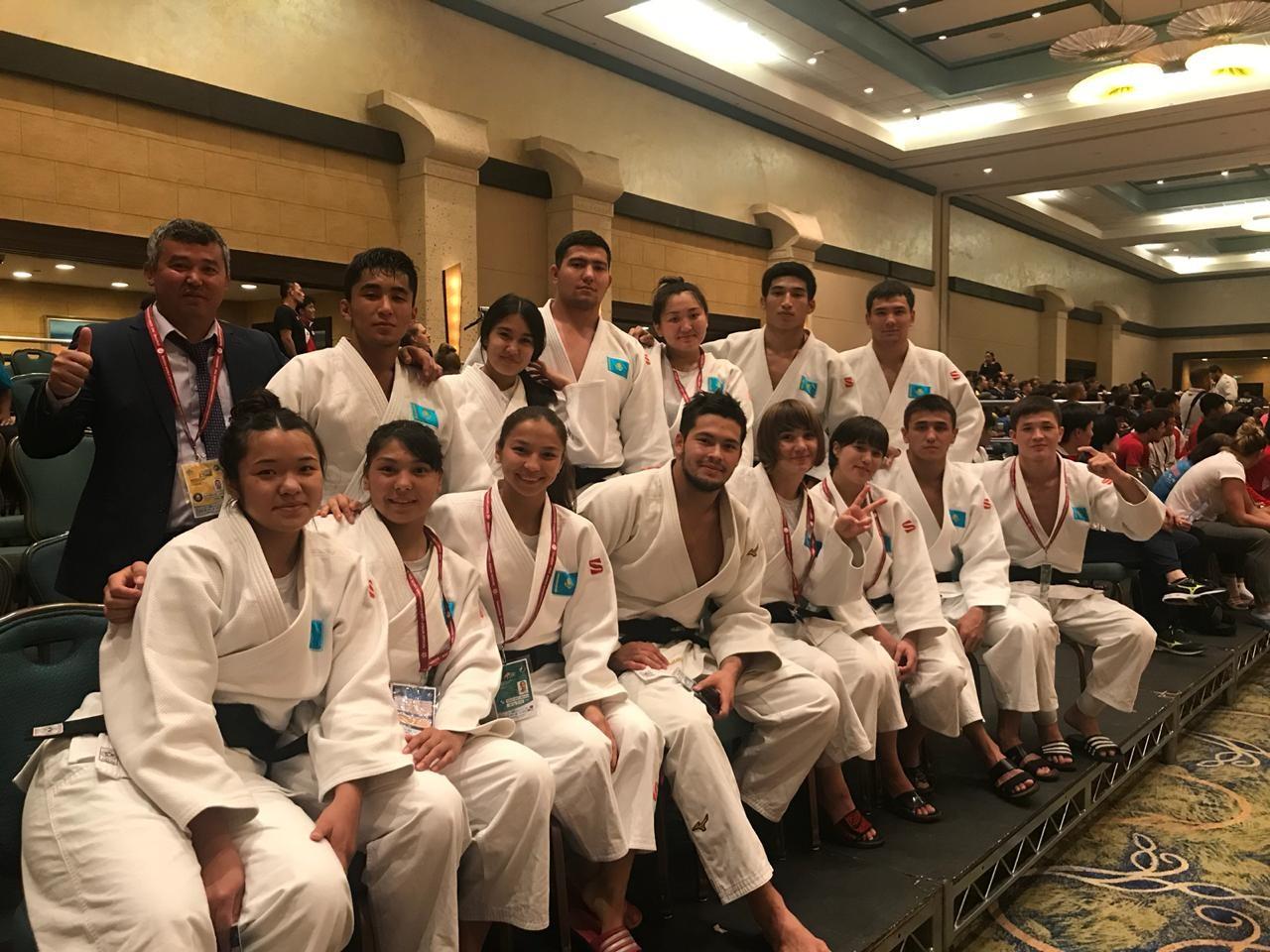 Казахстанские дзюдоисты стали бронзовыми призёрами чемпионата мира среди молодёжи