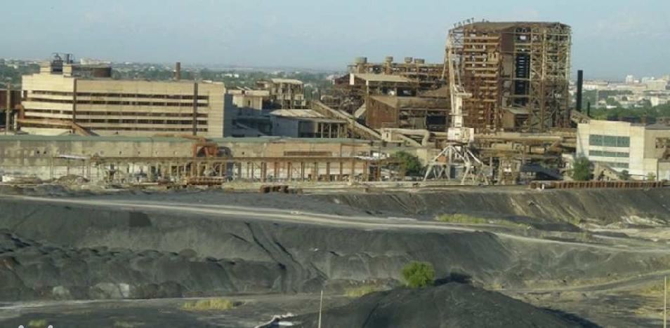 Земля бывшего свинцового завода в Шымкенте ушла с молотка