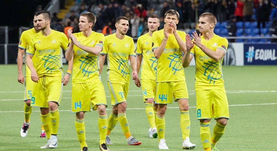 «Астана» узнала первых возможных соперников в Лиге Чемпионов
