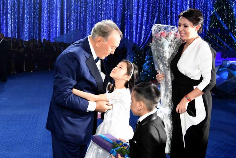 О чем говорили с главой государства дети из фонда «Милосердие»
