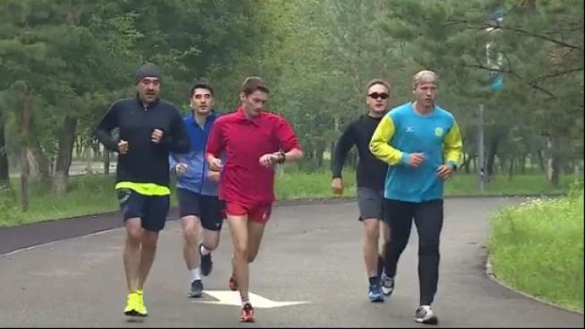 Карим Масимов выложил в Instagram видео утренней пробежки