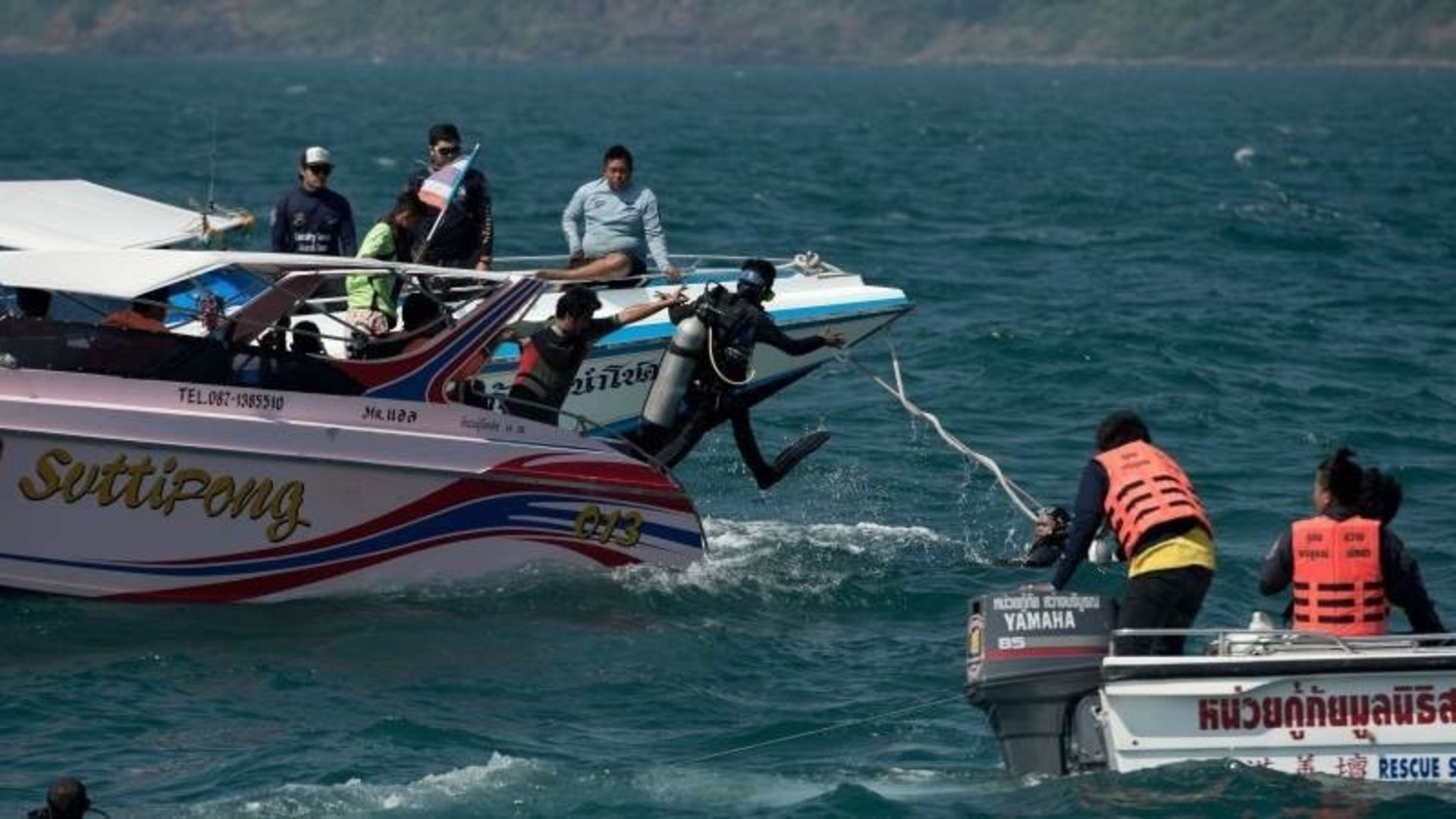 В Таиланде при крушении парома погибли два человека