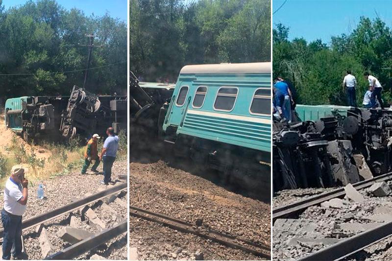 Стали известны виновные в крушении пассажирского поезда в Шу