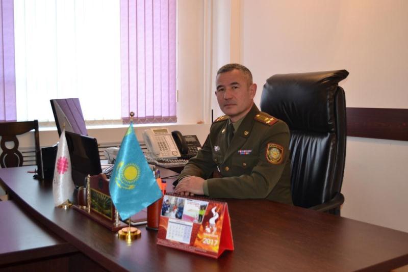 Назначен начальник Департамента по ЧС Туркестанской области