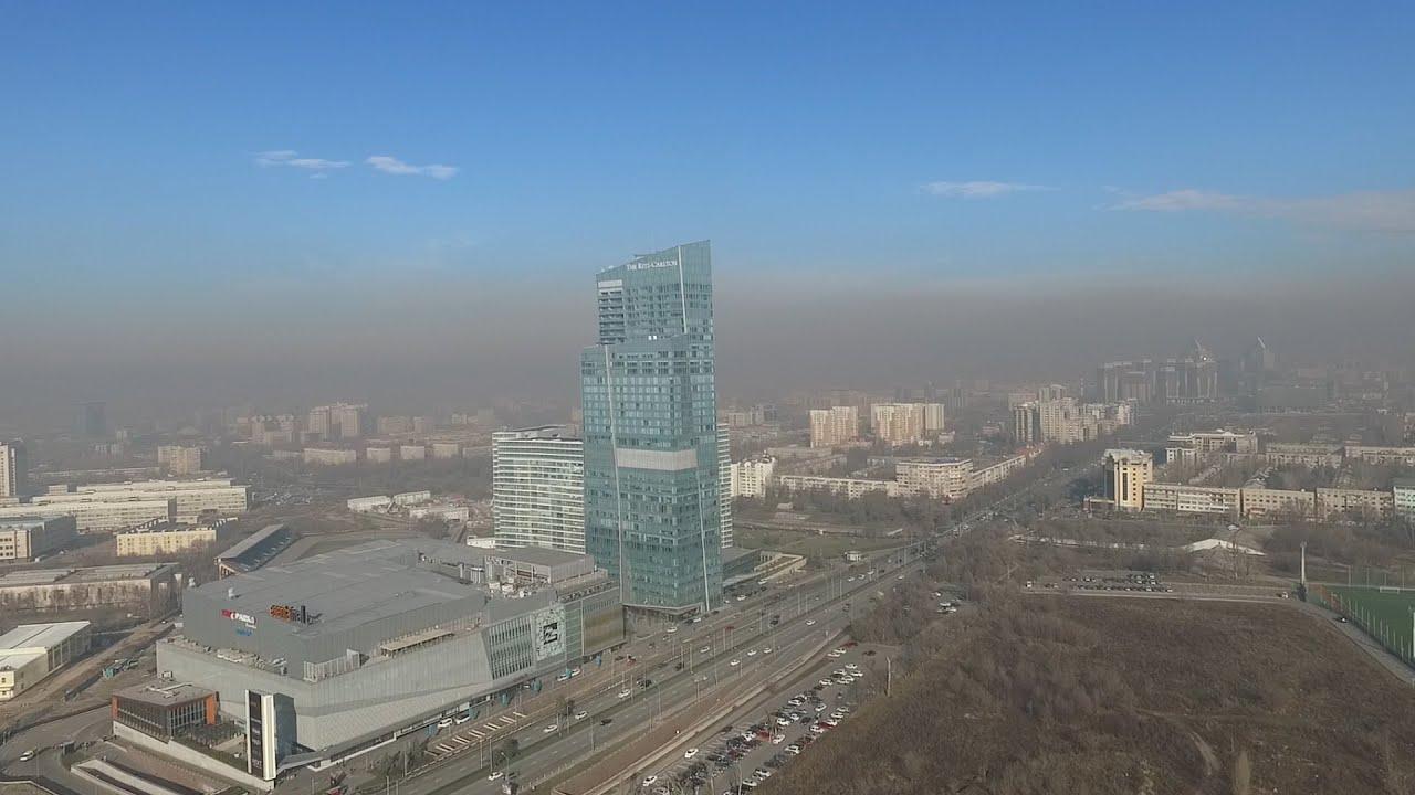 В Алматы определят основной источник загрязнения воздуха