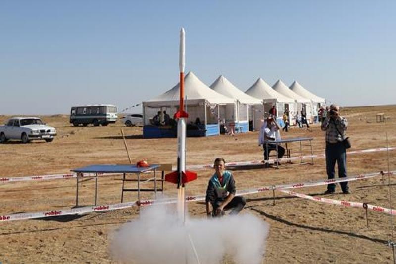 На Байконуре стартовали международные соревнования по ракетомодельному спорту