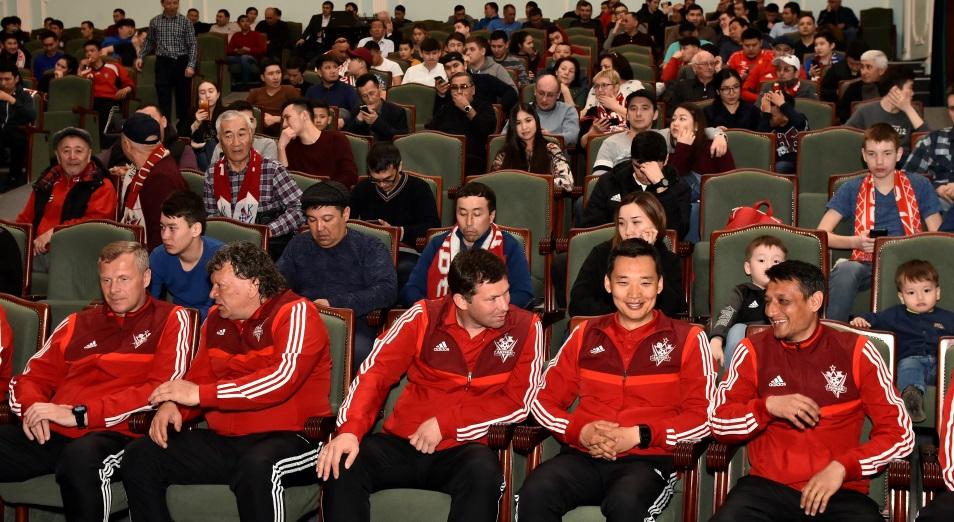 В Актобе прошла презентация новой команды «красно-белых»