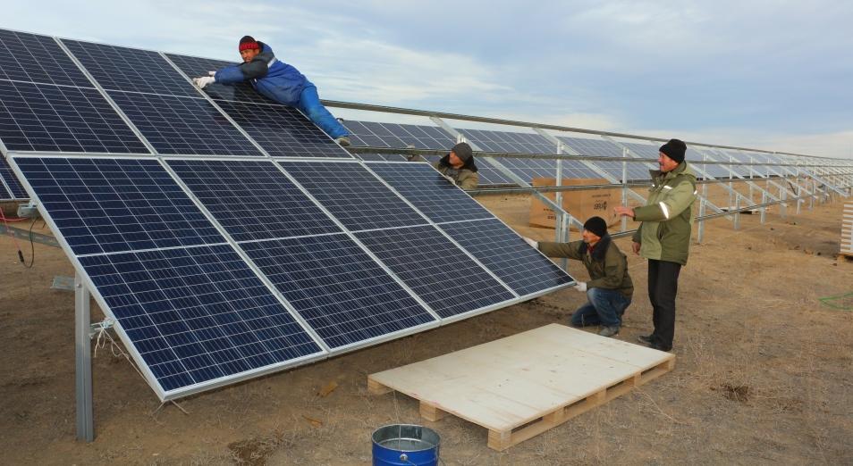 Энергию солнца задействуют в Жезказгане