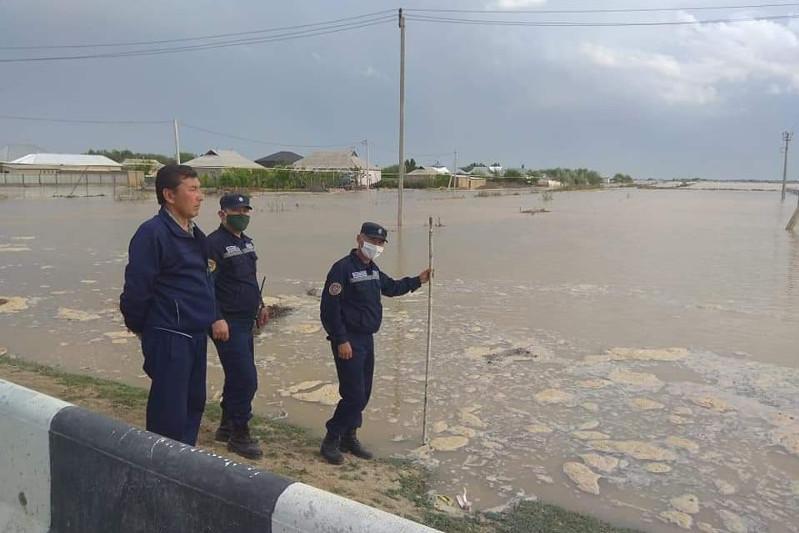 Жителей еще трех сел Мактааральского района эвакуируют в случае затопления