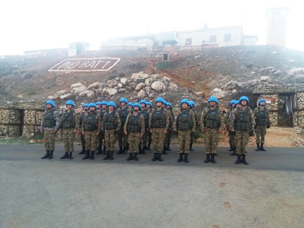 Эксклюзивное видео с казахстанскими миротворцами