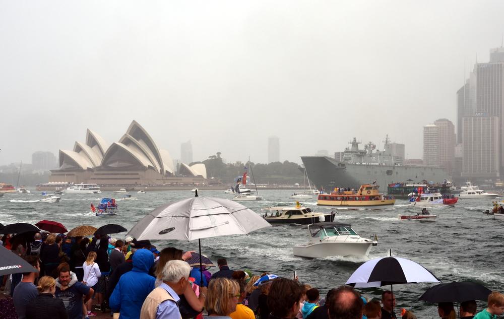 Муссонные дожди вызвали наводнения на северо-востоке Австралии