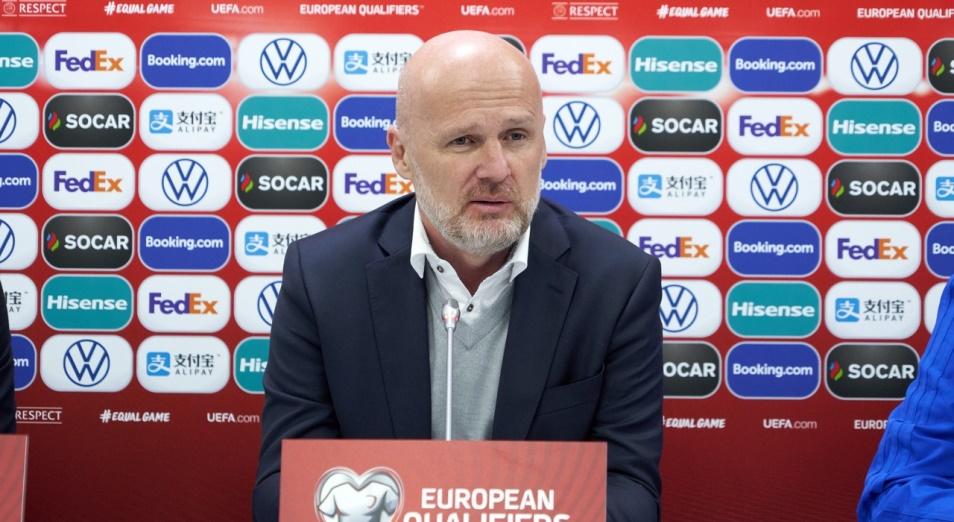 Почему Билек доволен игроками после поражения от Бельгии