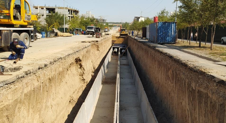 9,5 млрд тенге потратили в Шымкенте на модернизацию теплосетей