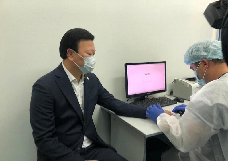 Алексей Цой вакцинировался от гриппа