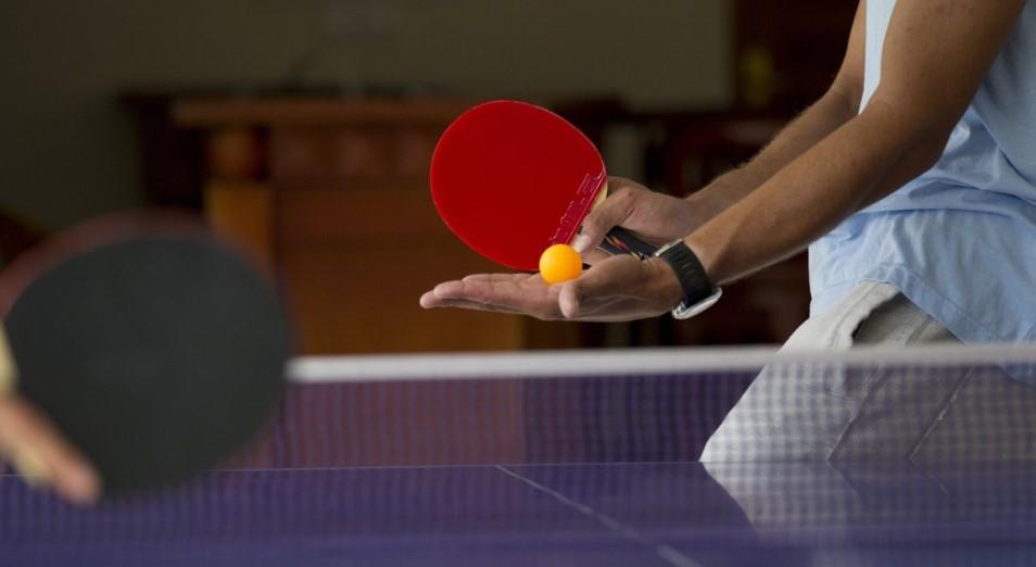 Алматы будет принимать Международный турнир по настольному теннису «Южная столица»